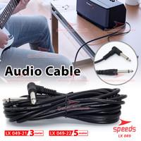 Kabel Jack Gitar Listrik SPEEDS Alat Musik Kabel Aux Cable Audio 049