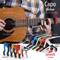 Alat Musik Capo Gitar Alumunium Alloy Penjepit Gitar SPEEDS 049-15