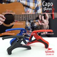 Alat Musik Capo Gitar Bahan Plastic Untuk Gitar/Ukulele 049-14