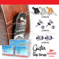 Strap Lock Guitar Pin Strap Guitar SPEEDS Pengunci Strap Gitar 049-28