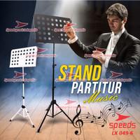 Alat Musik Stand Untuk Partitur Sheet Stand Partitur Besar 049-6