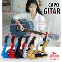 Alat Musik Capo Gitar Bahan Alumunium Untuk Gitar/Bass SPEEDS 049-16