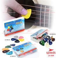 Pick Gitar Alat Musik Celluloid Murah Pemetik Gitar Akustik 049-23