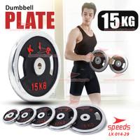Plate Dumbell Plate Barbel 15 kg Diameter 5 cm Dumbell Plate 014-33
