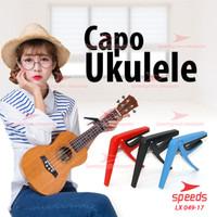 Alat Musik Capo Gitar Bahan Rubber Untuk Ukulele SPEEDS 049-17