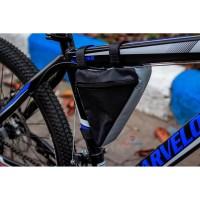 Tas Sepeda Segitiga Bicycle Triangle Frame Bag Pouch Universal MTB