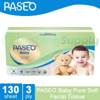 Tissue PASEO BABY Facial Pure Soft 130 sheet - 3 Ply