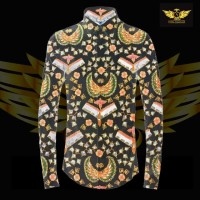 KATUN TULIS NON POLA motif 13 bahan kain batik tulis solo kemeja pria