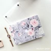Macbook Air New 13 Mac Book Flower Grey Case Cover Hard Soft Casing