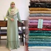 GAMIS JERSEY POLOS REMPEL ADEM TEBAL JATUH ALL SIZE FIT TO XXL