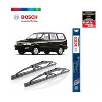 Wiper Mobil Toyota Kijang Kapsul Sepasang Bosch Advantage 22 16