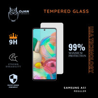 Tempered Glass 9H SAMSUNG A51 Bening MURAH MERIAH !!!