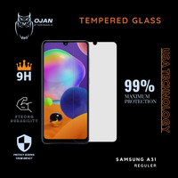 Tempered Glass 9H SAMSUNG A31 Bening MURAH MERIAH !!!