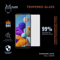 Tempered Glass 9H SAMSUNG A21 S FULL COVER MURA MERIAH !!!