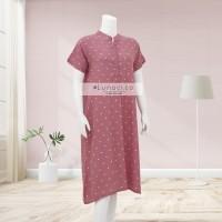 Lunaci Pink Polkadot Home Dress