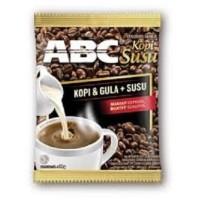 ABC Kopi Susu, sachet renceng (10pcs x 31gr)