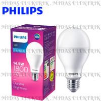 Lampu LED Bulb Philips 14.5 14,5 Watt W E27 Putih Cool Daylight 6500K