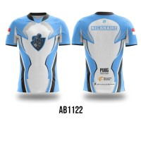 Kaos Jersey Game Esports Mobile Legend Free Fire PUBG CUSTOM AB1122