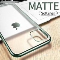 FOR IPHONE X/XS, XR, XS MAX, 11, 11 PRO, 11 PRO MAX - MATTE SOFT CASE