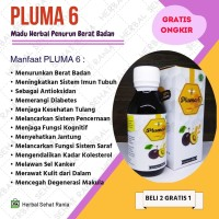 PLUMA 6 Pelangsing Herbal Penurun Berat Badan Madu Diet Detoxs Alami