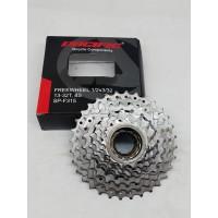 Pacific Freewheel sproket 8 speed gir belakang susun sepeda MTB lipat