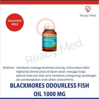 BLACKMORES ODOURLESS FISH OIL 1000 MG ISI 30