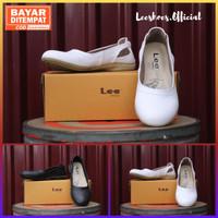 Sepatu Wanita Putih Polos - Kode LE3 Original Leeshoes Official Store