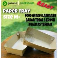 Paper tray / Food Tray / Nampan kertas / FOOD GRADE size M+