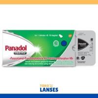 Panadol Hijau Cold & Flu 1 Strip isi 10 Tablet untuk Flu dan Batuk
