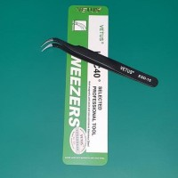 Vetus Tweezer Esd-15 For Vape Coiling & Wicking Tools - Pinset Vapor