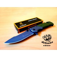 "Pisau Lipat Survival Outdoor Browning Hunter Knife ""Self Defense Shop"""
