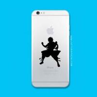 Tokomonster Decal Sticker Apple iPhone - Fairy Tail Natsu - 4 Buah