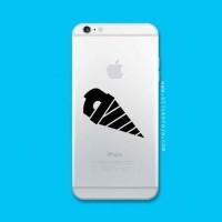 Tokomonster Decal Sticker Apple iPhone - Gurren Lagann Drill - 4 Buah