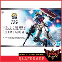 HG RX 78 2 Beyond Global High Grade RX-78-2 Beyond Global Gundam