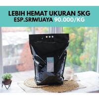Kopi Espresso Full Robusta Sriwijaya 5 Kg (Biji/Bubuk)