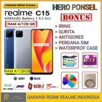 REALME C15 RAM 4/128 GB GARANSI RESMI REALME INDONESIA