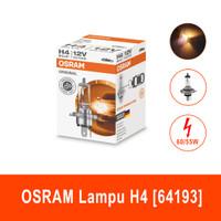 OSRAM Lampu Bohlam Mobil H4 12V-60/55W P43t Lampu Halogen 64193