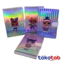 Tokotab - Buku NOTEBOOK DIARY HOLOGRAM FANCY A5 MY002-9 MAGNET
