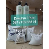 FILTER 2 TABUNG MEDIA AIR KOTOR SUMUR BOR