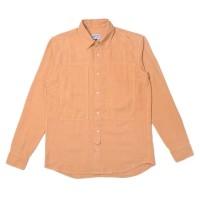 Jackhammer Tetra Dipped Linen Shirt Sandstone Kemeja Pria