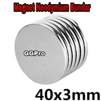 MAGNET NEODYMIUM SUPER KUAT 40x3 mm COIN