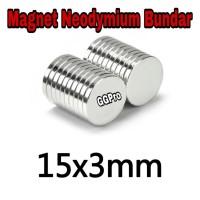 MAGNET NEODYMIUM BULAT UK 15X3 mm SUPER KUAT