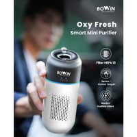 Bowin Air Purifier Oxy Mini – (3in1 True HEPA & ANION Filter)