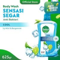 Dettol Body Wash Cool Sabun Mandi Cair Cool Botol - Botol Pump 625ml