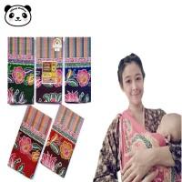 Kain Gendongan Samping Bayi Tradisional Lebar Jarik Batik Mahkota