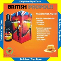 Grosir British Propolis Ippho Santosa Madu Herbal Original Halal BPOM
