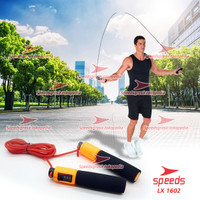 Jump Skipping Rope Soft Handle Counter Tali Skiping Speeds 021