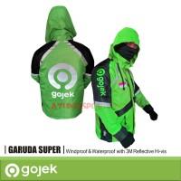 Jaket Gojek Logo Baru with Hoodie Type GARUDA Super