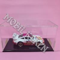 Hot Wheels Custom Porsche 993 Kinder Joy for Girls White Pink