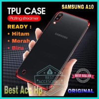 SAMSUNG GALAXY A10 A105 SOFT CASE PLATING KORI LUXURY LIST COLOR CROME